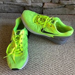 Nike Lunaron Neon Sneakers Men's Sz 11